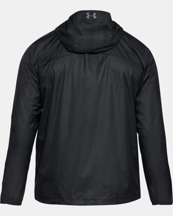 Men's UA Overlook Jacket, Black, pdpMainDesktop image number 4