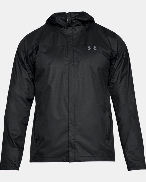 Men's UA Overlook Jacket, Black, pdpMainDesktop image number 3