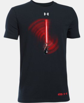 Boys' UA Star Wars Light Saber T-Shirt LIMITED TIME: FREE SHIPPING  $29.99