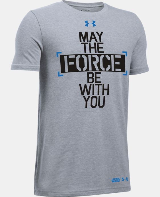 Boys' UA Star Wars Force Be With You T-Shirt  1 Color $29.99