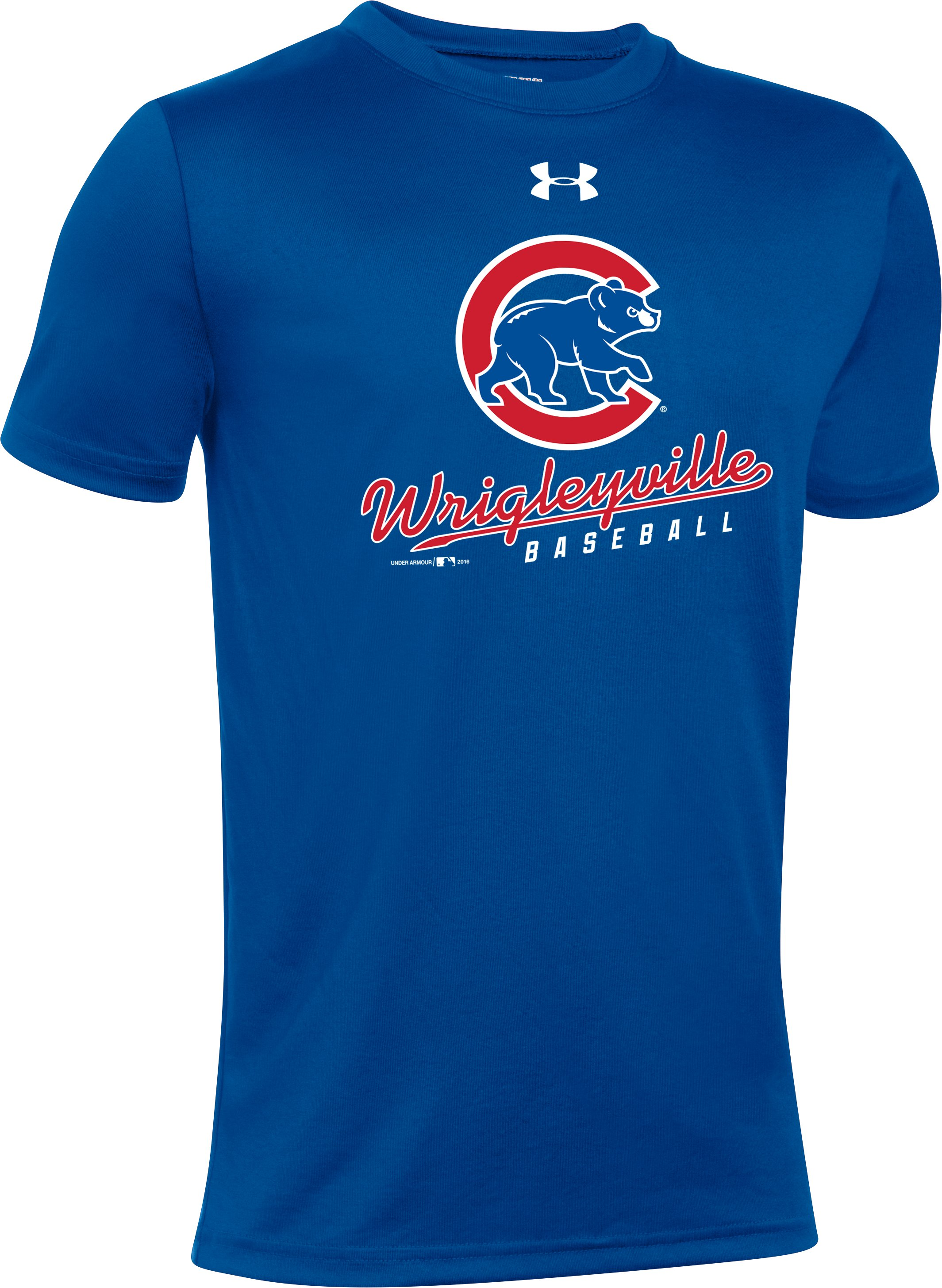 Kids' Chicago Cubs Wrigleyville T-Shirt, Royal, undefined