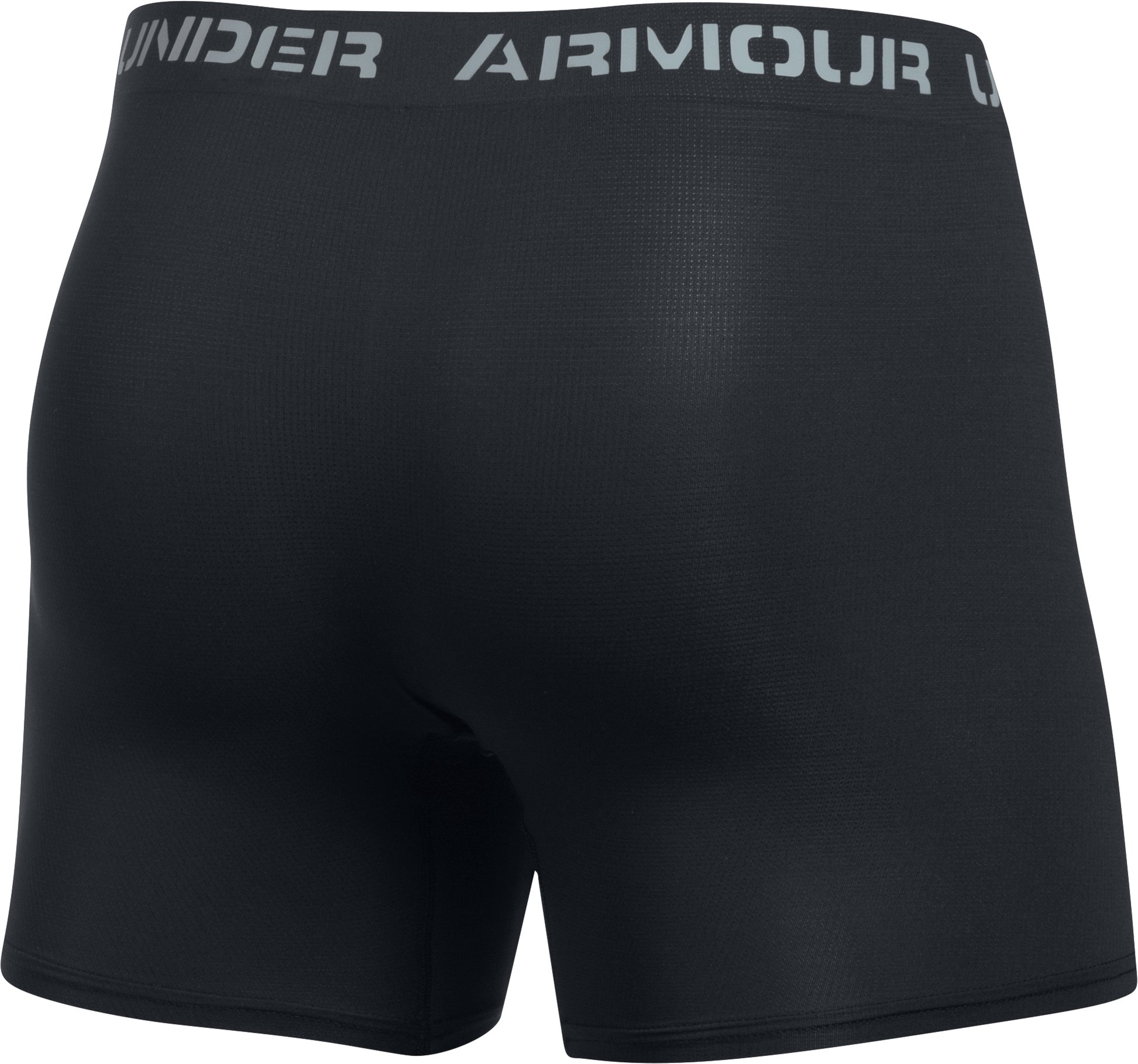 "Men's ArmourVent® Mesh Series 6"" Boxerjock®, Black ,"