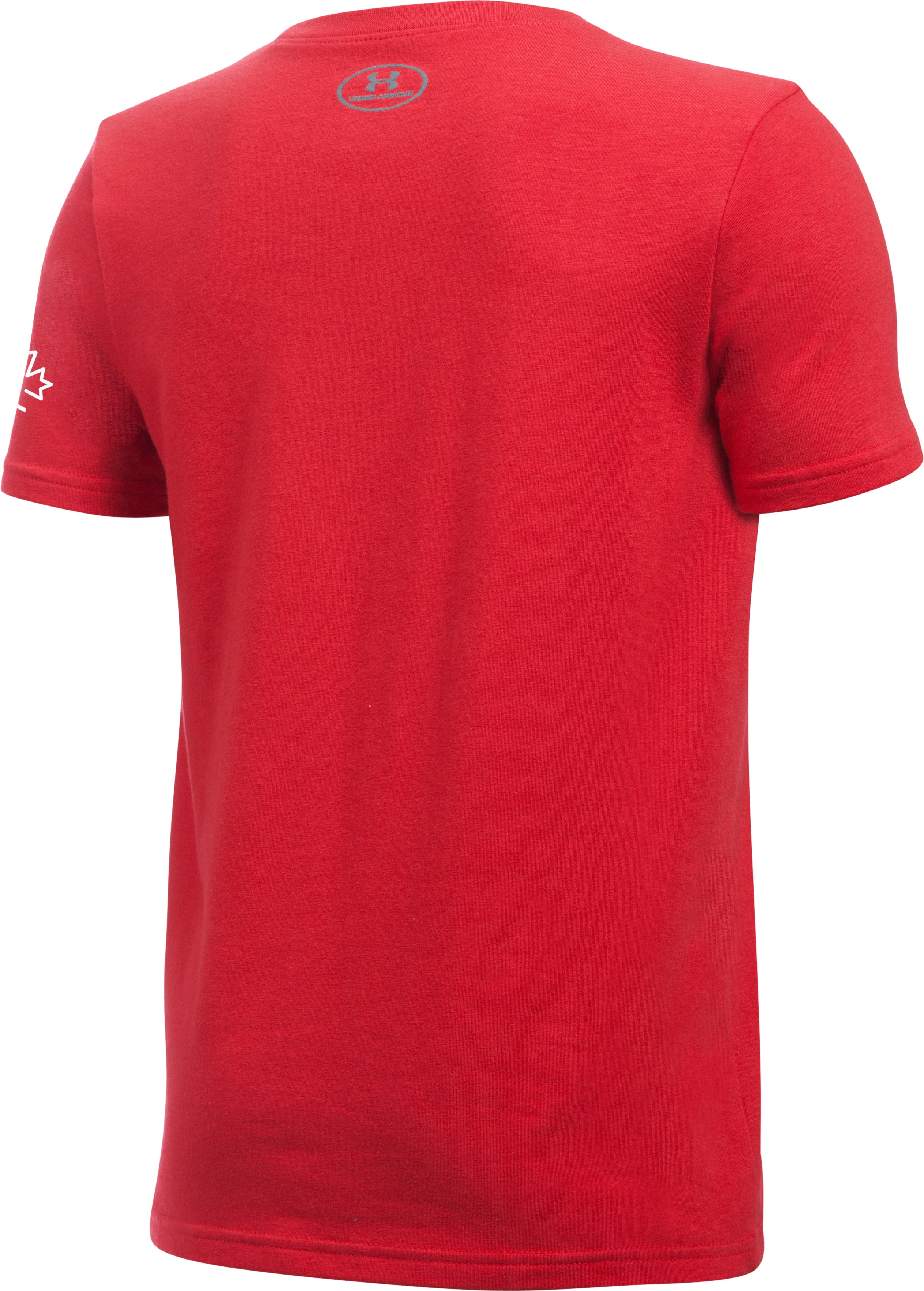Boys' UA Hockey High Stick T-Shirt, Red,