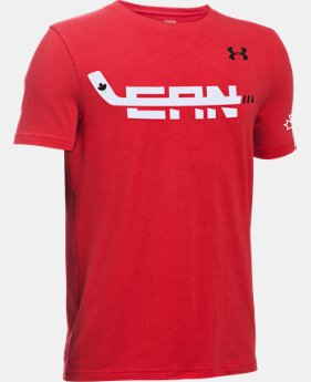 Boys' UA Hockey High Stick T-Shirt  1 Color $22.99