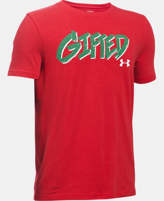 New Arrival Boys' UA Gifted T-Shirt  1 Color $19.99