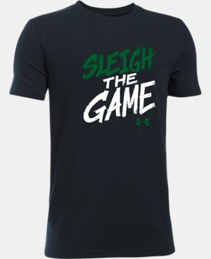 New Arrival Boys' UA Sleigh The Game T-Shirt  1 Color $19.99