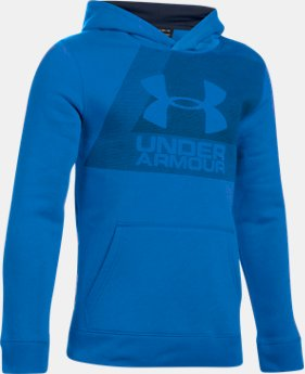 Boys' UA Rival Fleece Hoodie  1 Color $44.99