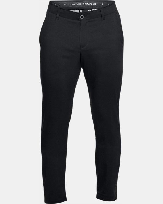 Men's UA Showdown Tapered Pants, Black, pdpMainDesktop image number 6