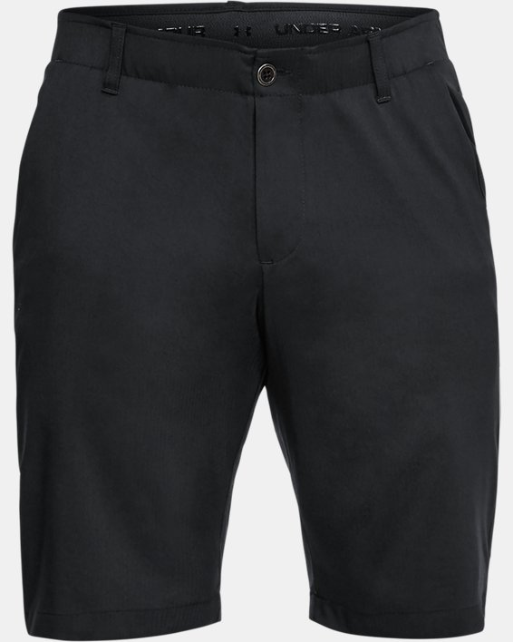 Men's UA Showdown Tapered Shorts, Black, pdpMainDesktop image number 4