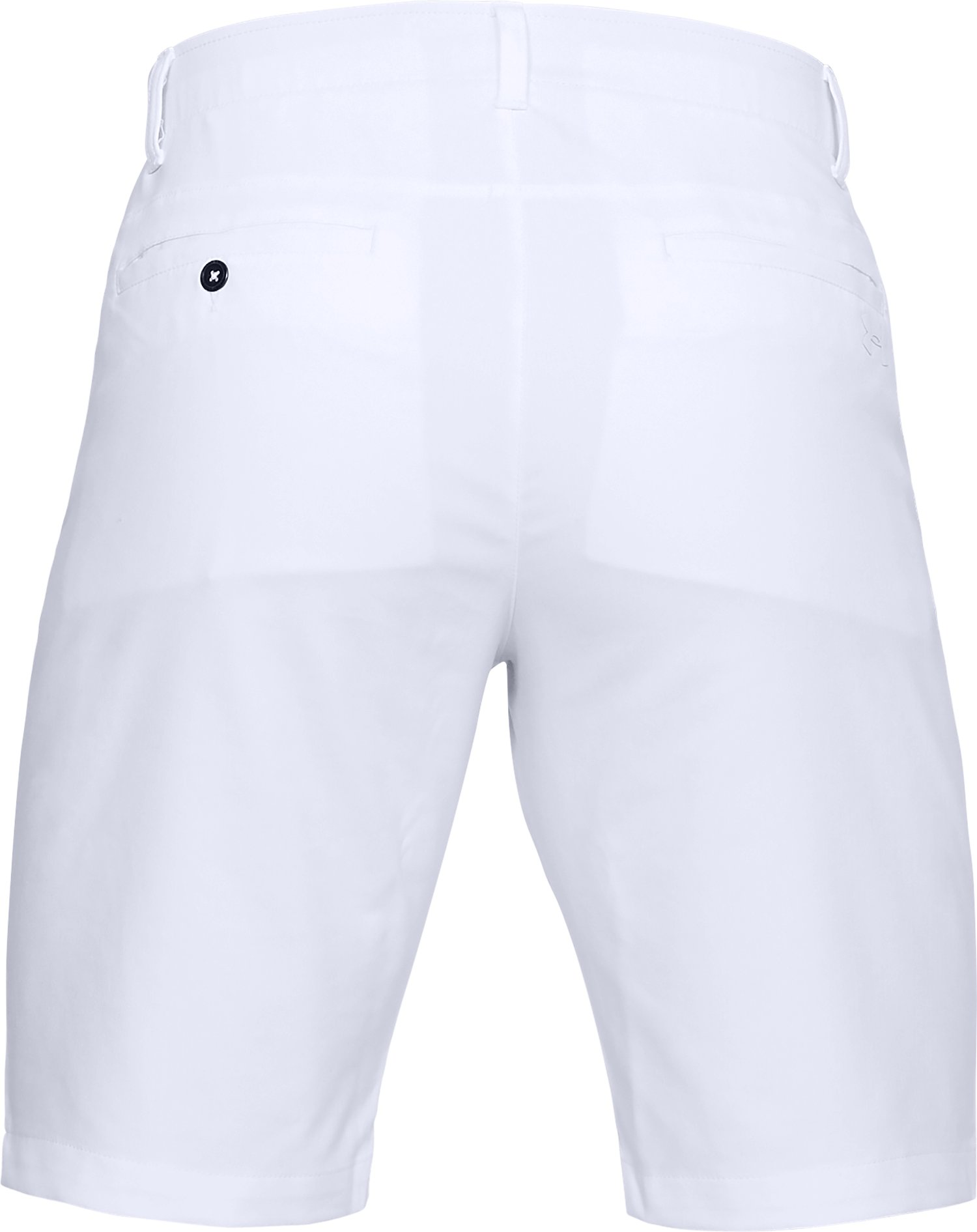 Men's UA Showdown Tapered Shorts, White,