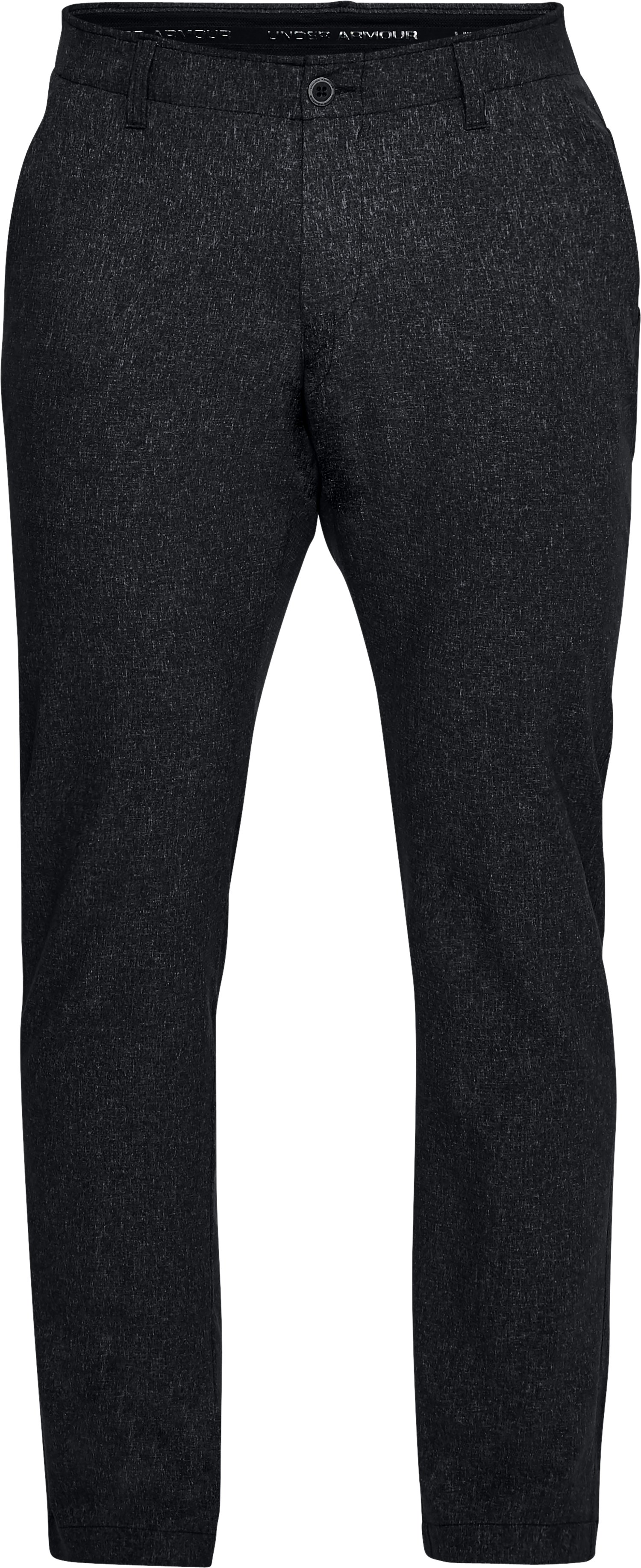 Men's UA Showdown Vented Pants Tapered, Black ,
