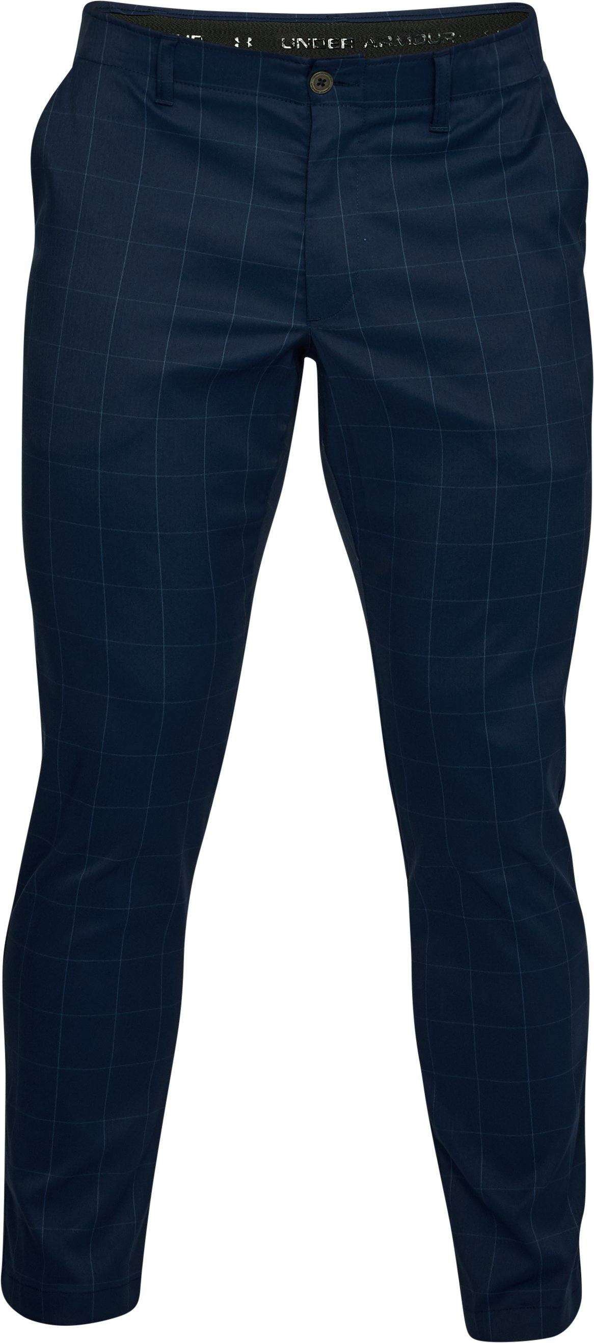 Men's UA Showdown Pattern Pants Taper, Academy,