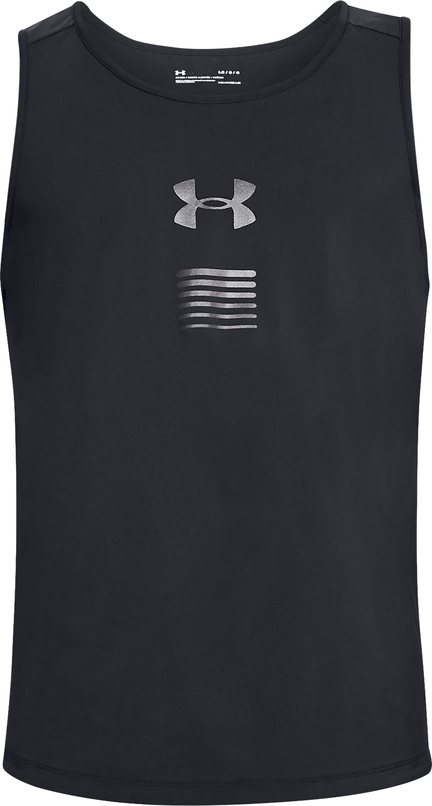 Men's UA Woven Tank, Black , undefined