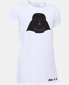 Girls' Star Wars Darth Vader Short Sleeve T-Shirt  1 Color $17.99