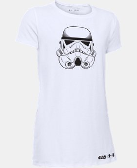 New Arrival Girls' Star Wars Storm Trooper Short Sleeve T-Shirt   $24.99