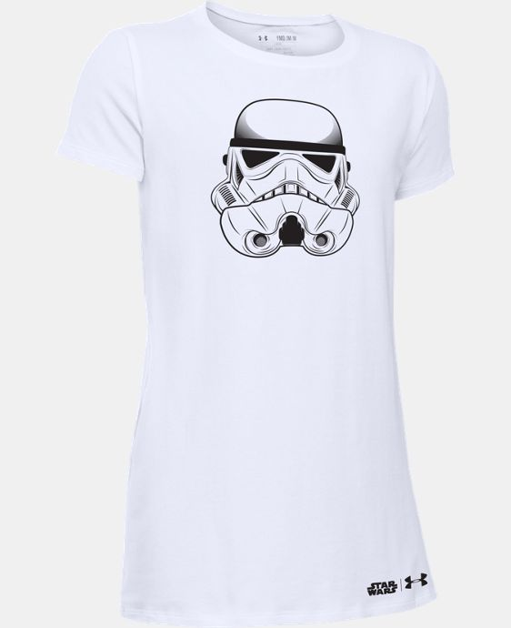 New Arrival Girls' Star Wars Storm Trooper Short Sleeve T-Shirt  1 Color $24.99
