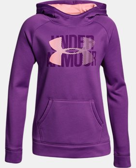 Girls' Armour Fleece® Big Logo Hoodie  1  Color Available $22.5 to $33.99