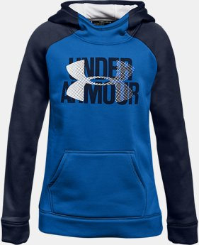 Girls' Armour Fleece® Big Logo Hoodie  6  Colors Available $22.5 to $26.99