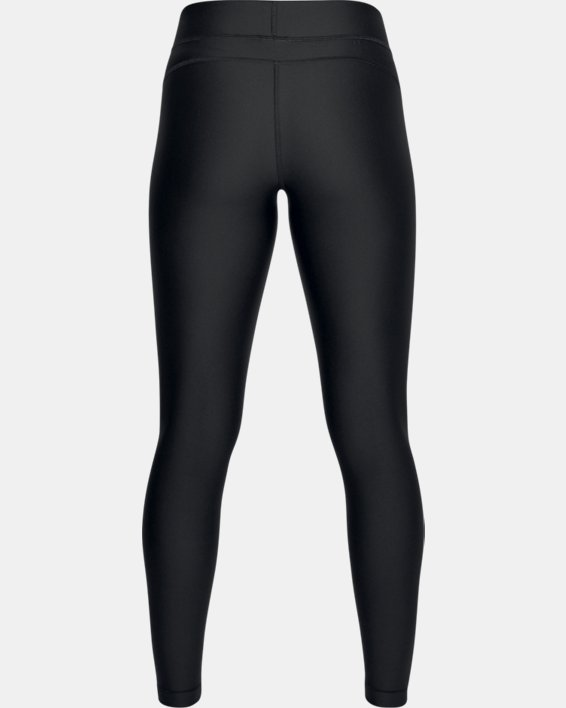 Women's HeatGear® Armour Leggings, Black, pdpMainDesktop image number 4