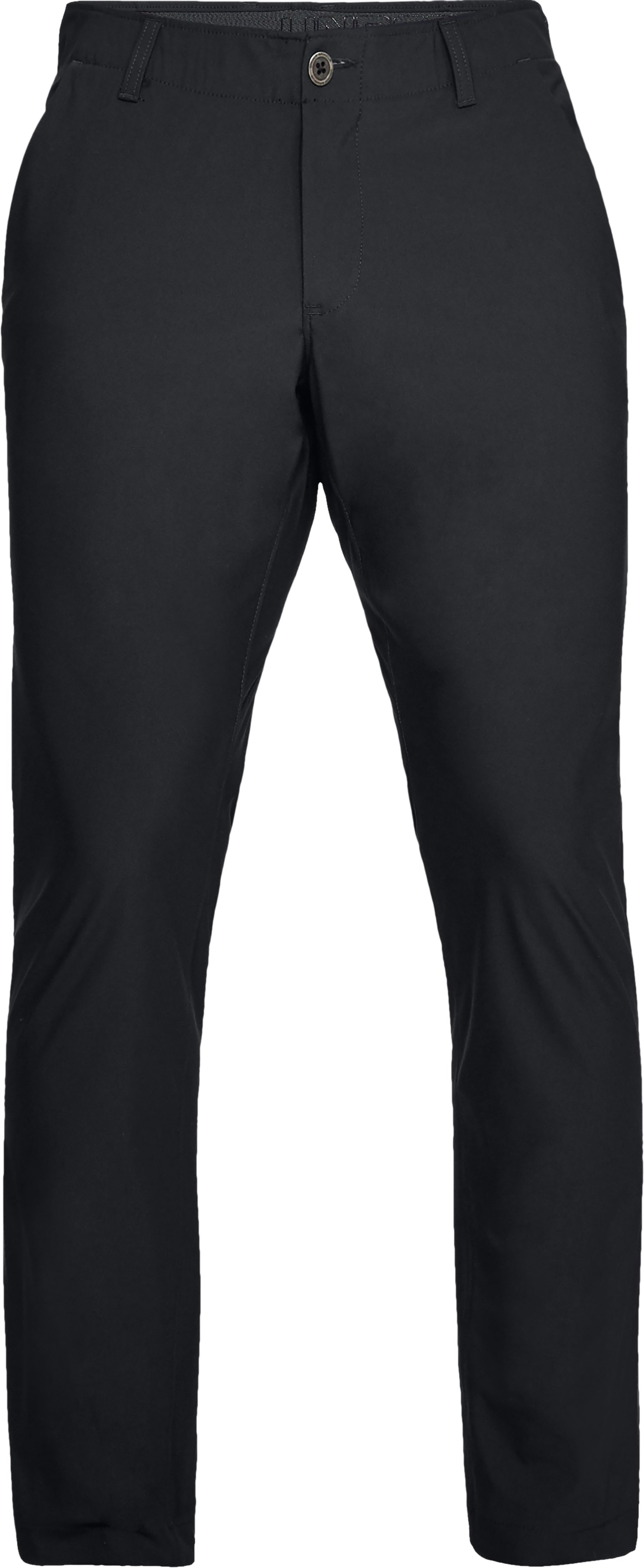 Men's UA Microthread Pants Tapered, Black , undefined