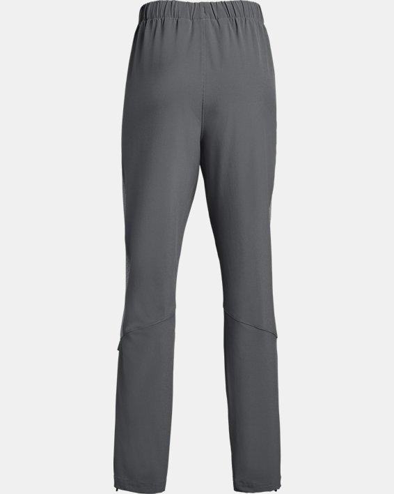 Girls' UA Squad Woven Pants, Gray, pdpMainDesktop image number 1