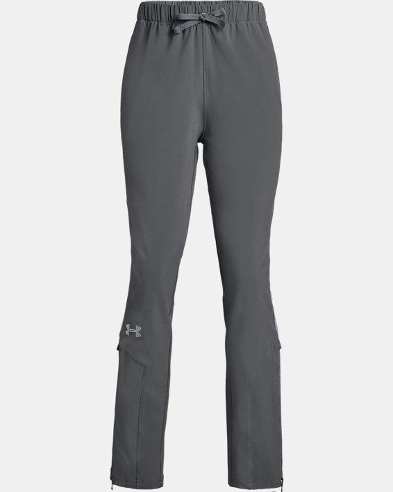 Girls' UA Squad Woven Pants, Gray, pdpMainDesktop image number 0