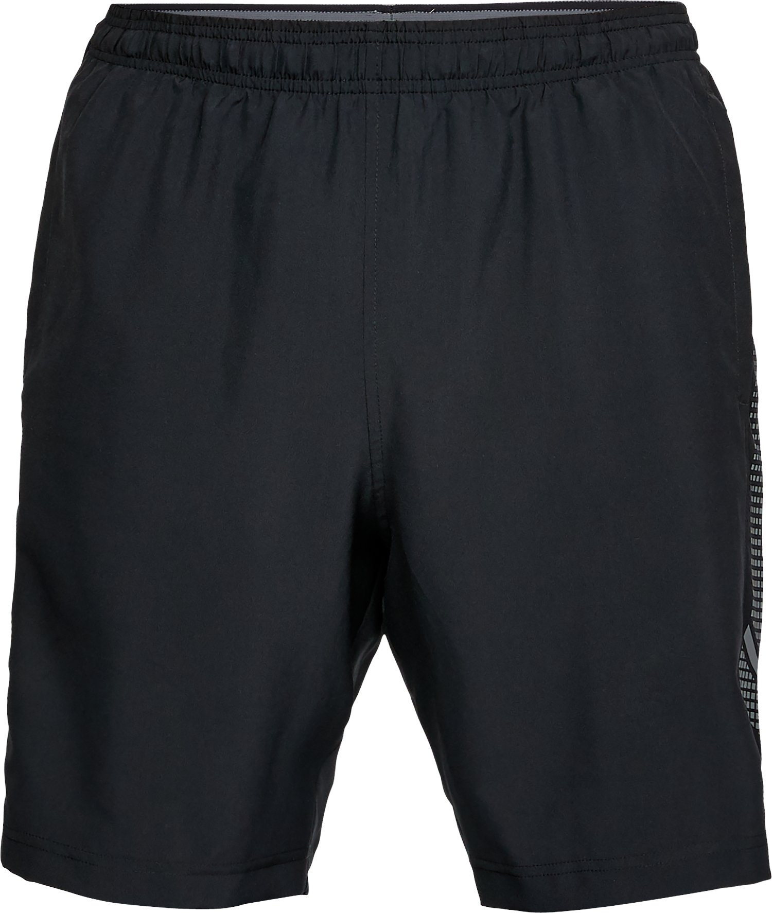 Men's UA Woven Graphic Shorts, Black , undefined