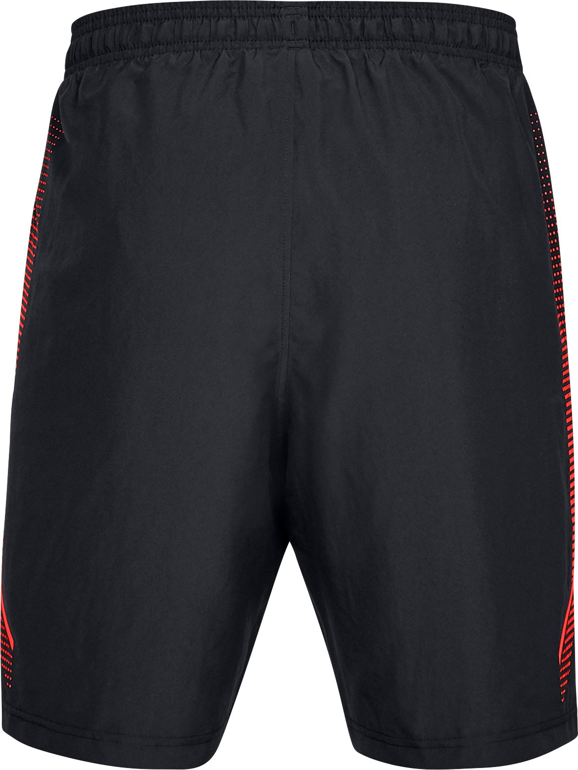 Men's UA Woven Graphic Shorts, Black ,