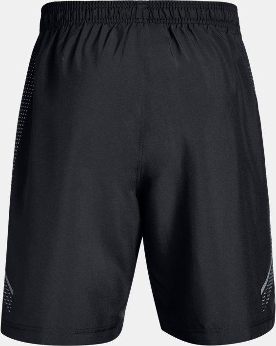 Men's UA Woven Graphic Shorts, Black, pdpMainDesktop image number 4