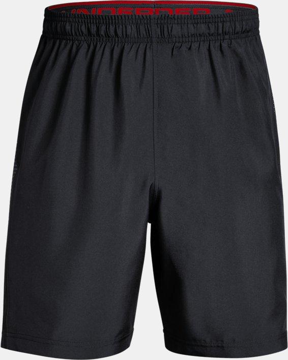 Men's UA Woven Graphic Shorts, Black, pdpMainDesktop image number 3