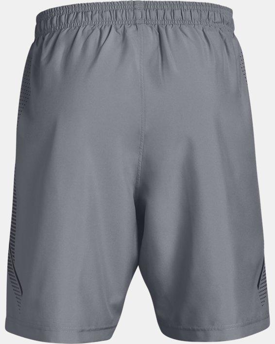 Herren Shorts UA mit Grafik, Gray, pdpMainDesktop image number 4