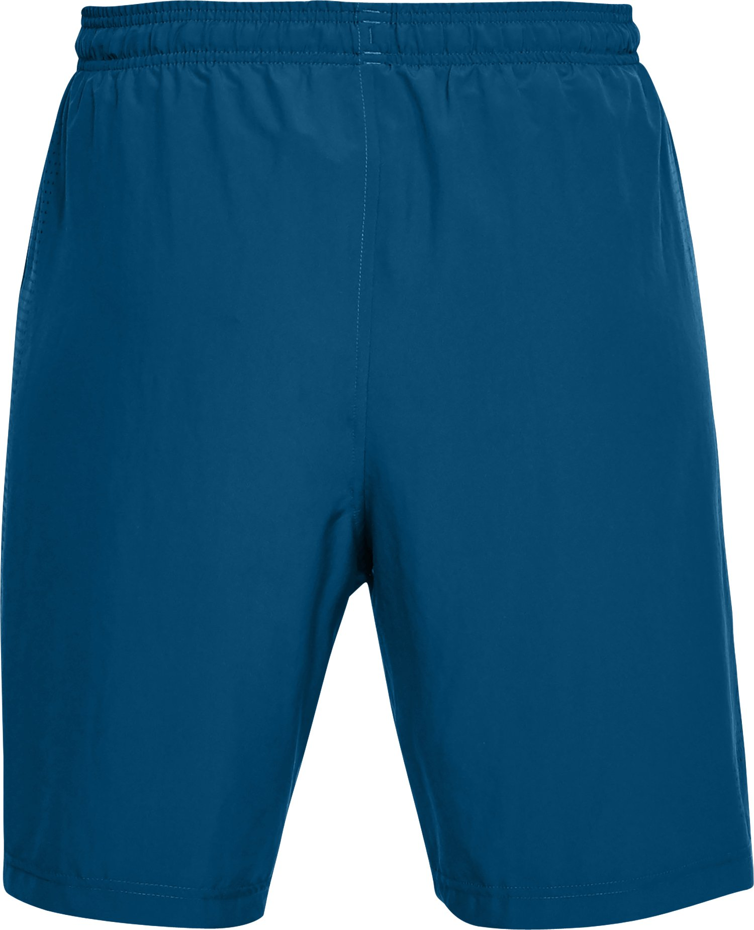 Men's UA Woven Graphic Shorts, MOROCCAN BLUE,