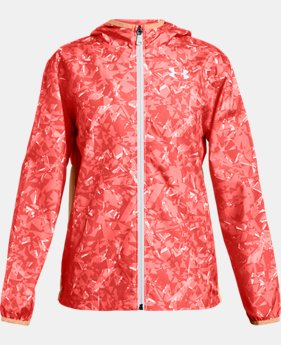 New to Outlet Girls' UA Sackpack Jacket  1  Color Available $45.99