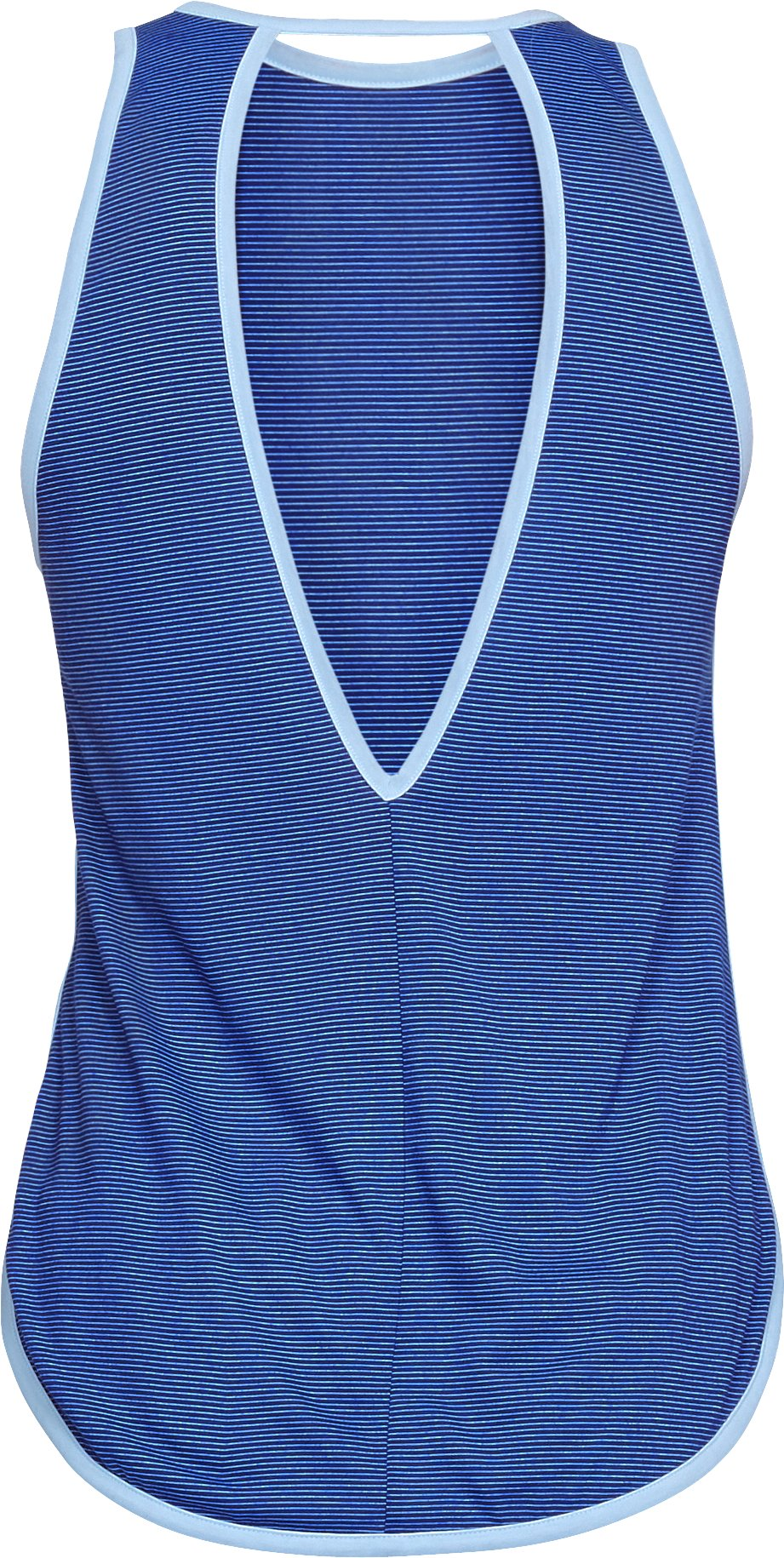 Women's UA Streaker Open Back Tank, FORMATION BLUE,