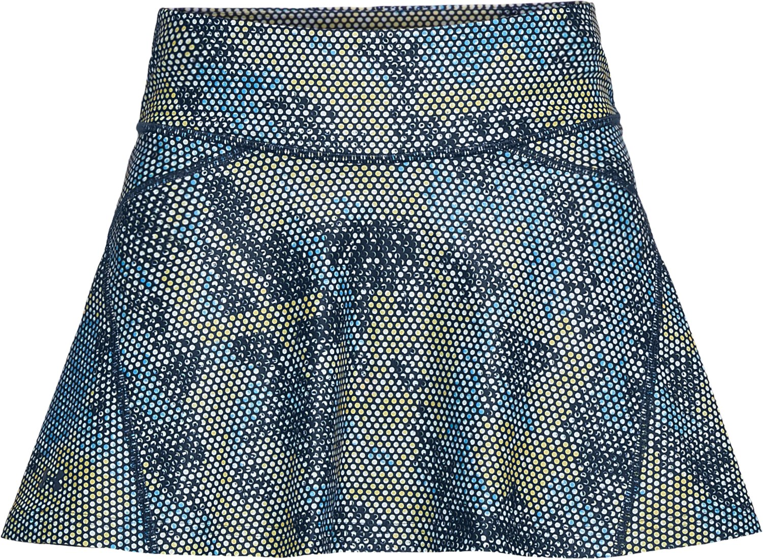 Women's UA Center Court Skort Printed, White, undefined