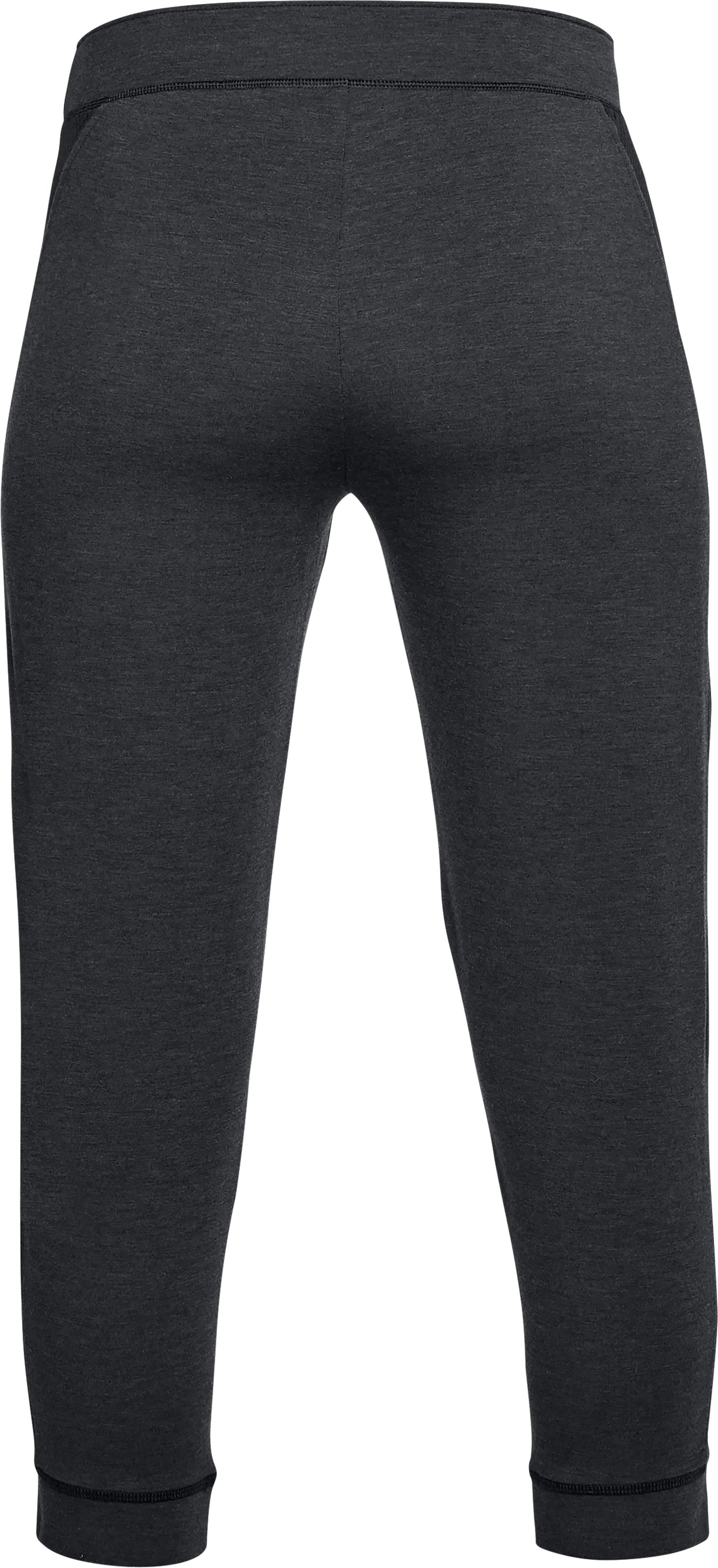 Women's UA Featherweight Fleece Crop, Black ,
