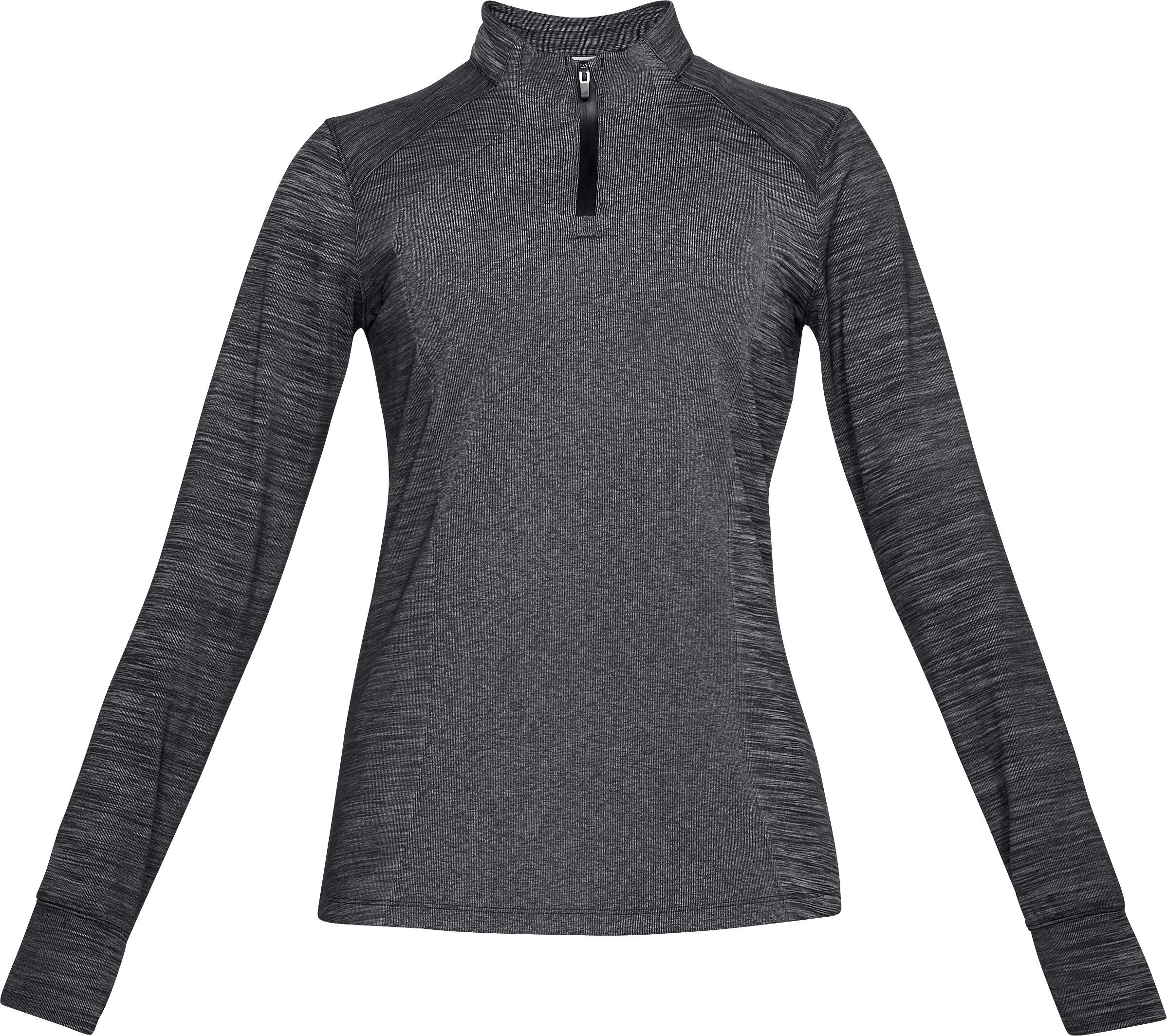 Women's UA Perpetual ½ Zip, Black ,