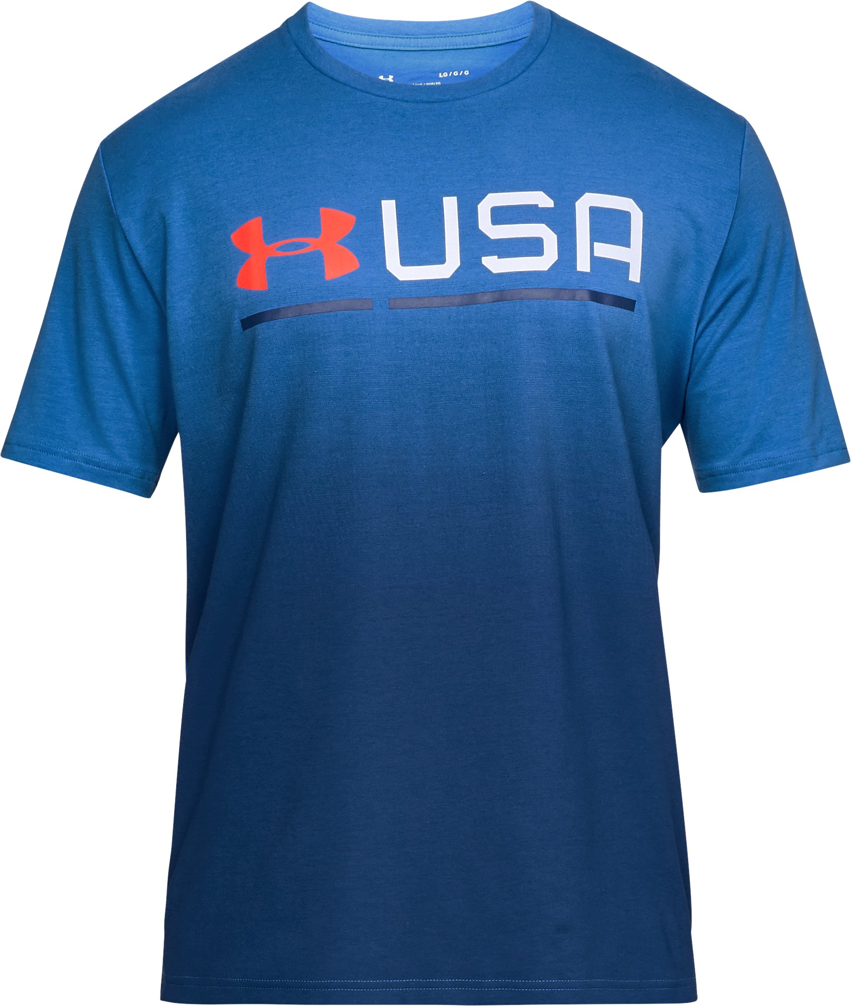 Men's UA USA Graphic T-Shirt, Mediterranean,