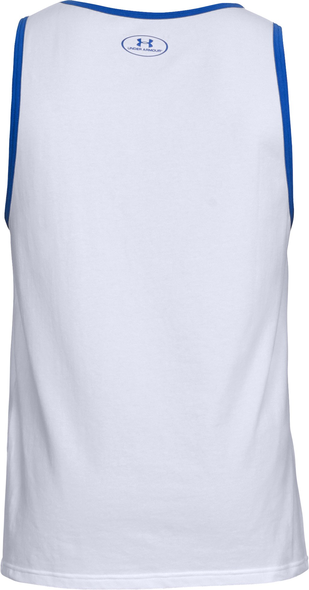 Men's UA USA Tank, White,