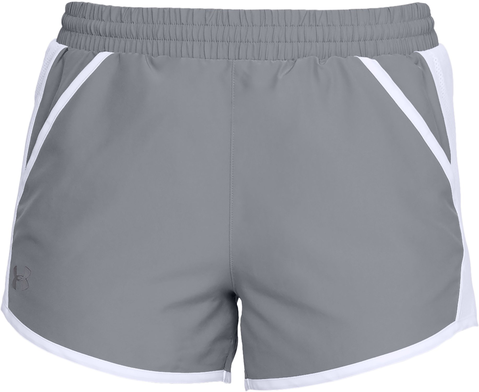 Women's UA Fly-By Team Shorts, Steel,