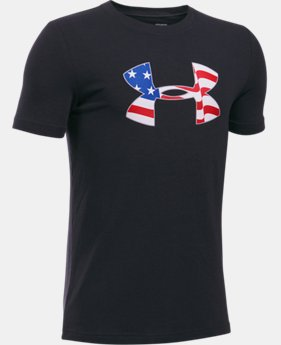Boys' UA Americana Pride T-Shirt  1 Color $19.99