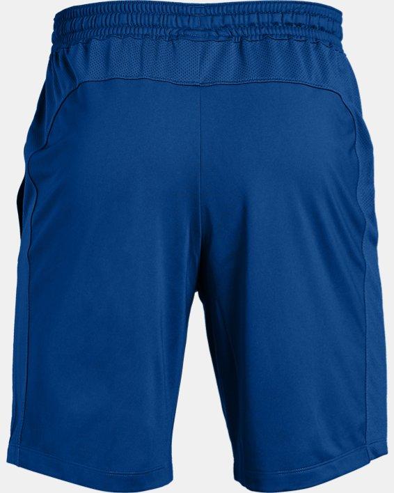 Men's UA Raid Pocketed Shorts, Blue, pdpMainDesktop image number 4