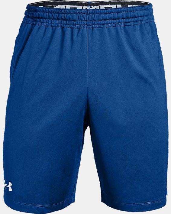 Men's UA Raid Pocketed Shorts, Blue, pdpMainDesktop image number 3