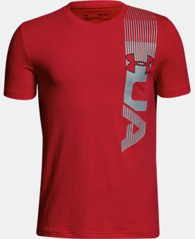 Boys' UA One Sided T-Shirt  1 Color $20