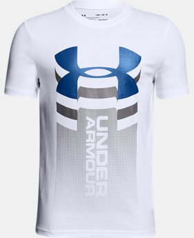 New Arrival Boys' UA Vertical Logo T-Shirt  3 Colors $20