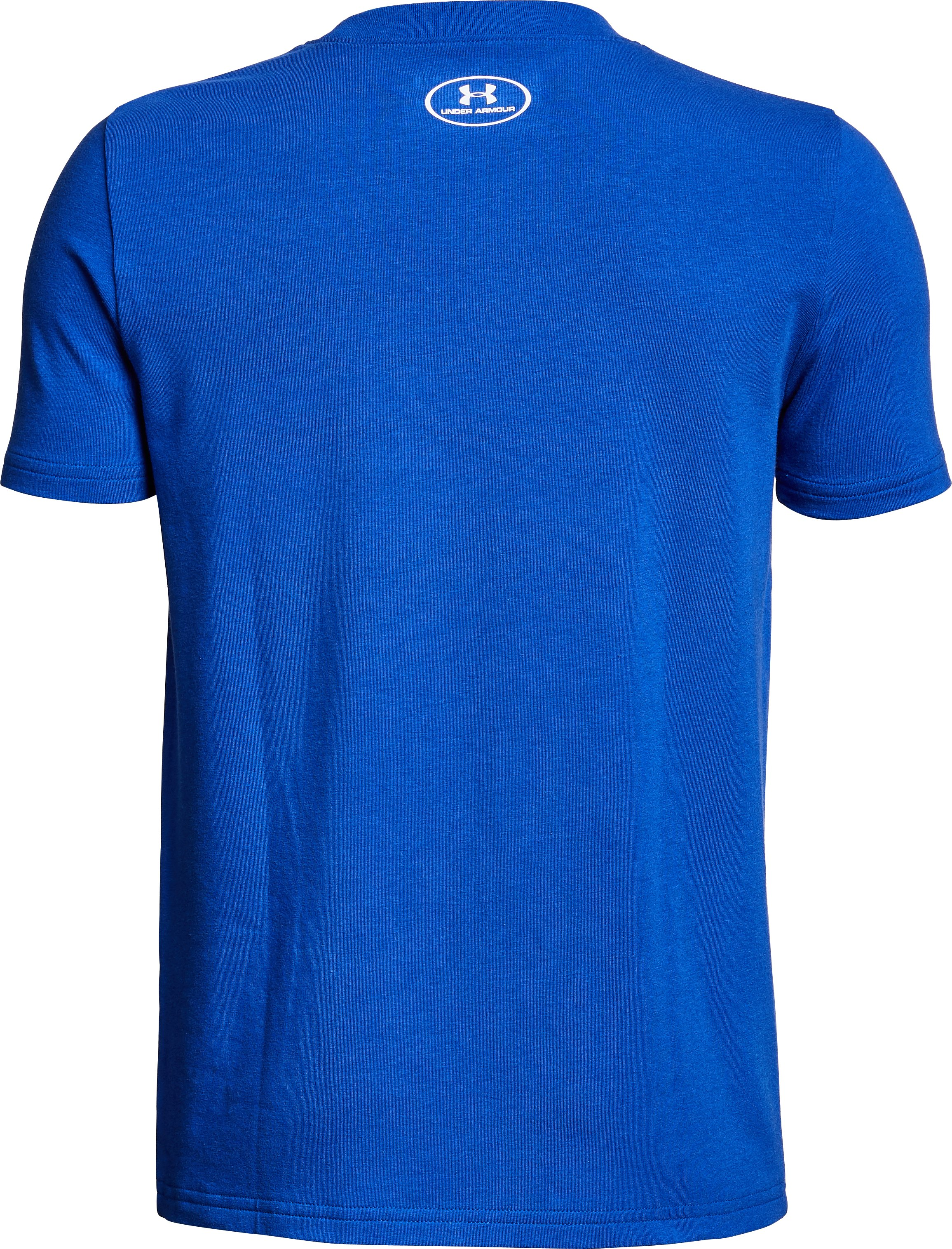 Boys' UA Can't Stop The Hype T-Shirt, Royal,