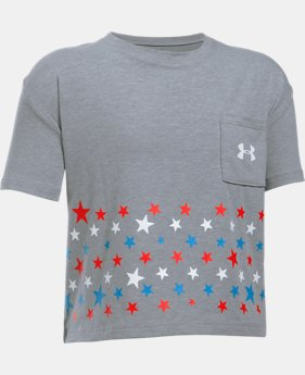 Girls' UA Star Crop T  1 Color $14.99
