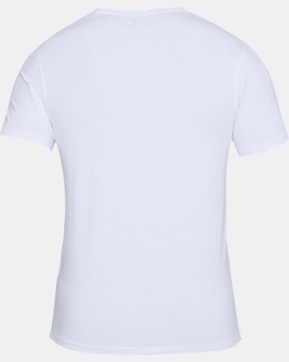Men's Charged Cotton® Crew Undershirt, White, pdpMainDesktop image number 4