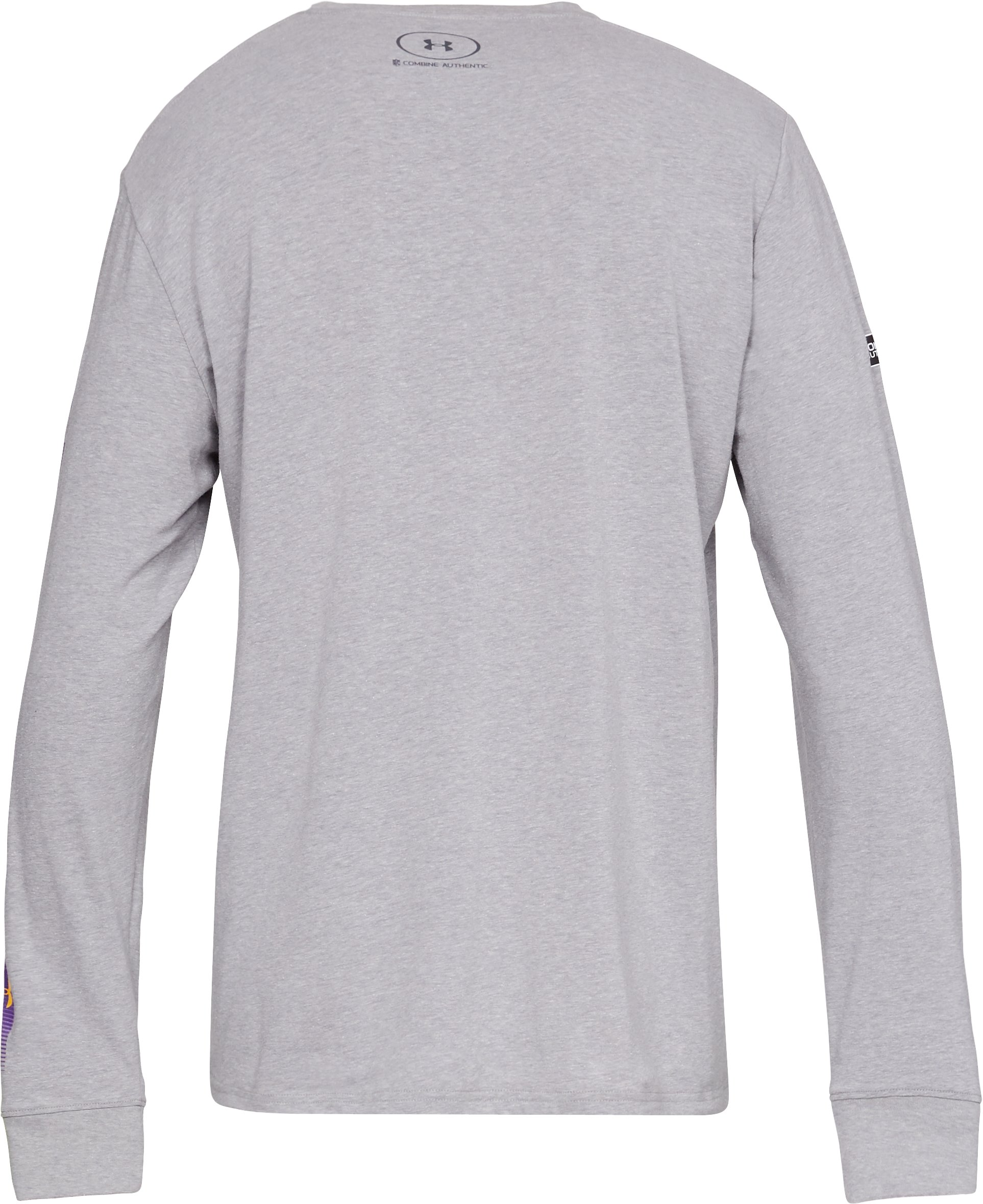 Men's NFL Combine Authentic City Long Sleeve T-Shirt, NFL_Minnesota Vikings_Steel Heather,