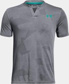 Boys' UA Siro Henley  2  Colors $45